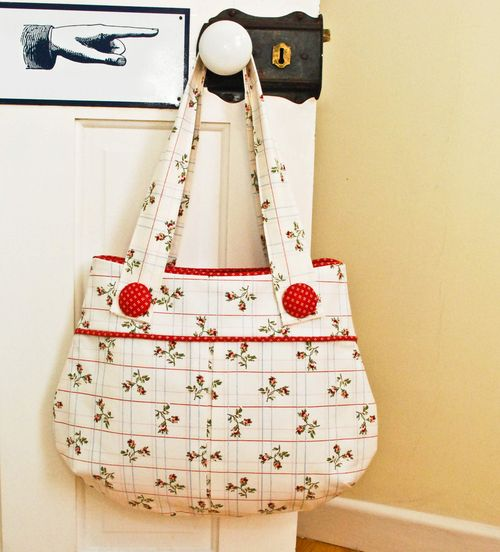 and the winner of name the Bag Sewing Pattern is... - U-handblog