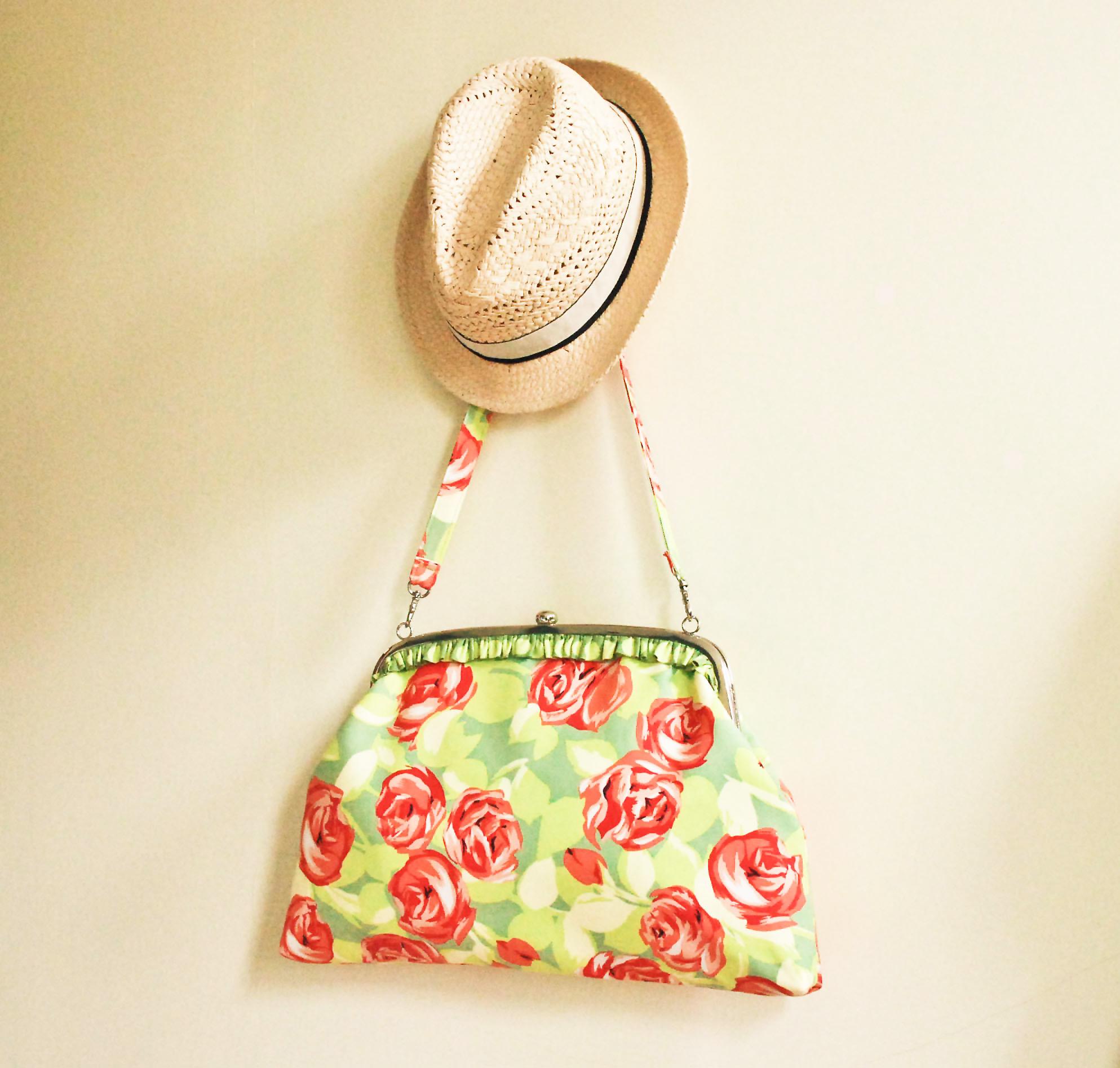 FREE bag purse pattern - Big n' Beautiful Betty - U-handblog