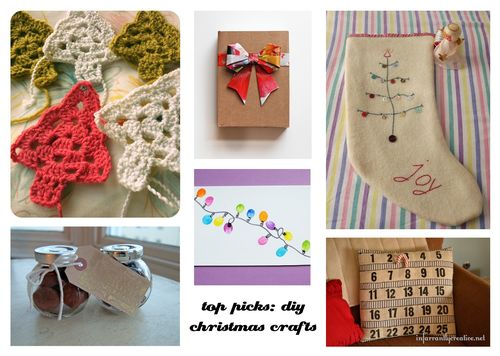 pinterest top picks: diy christmas crafts