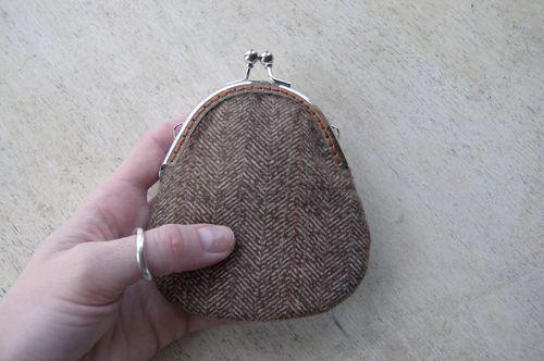 Sew in purse