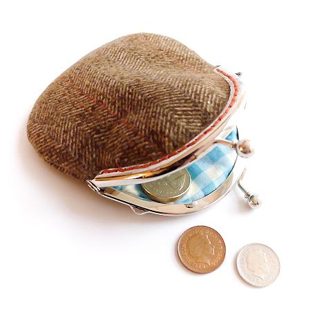 Sew-in purse