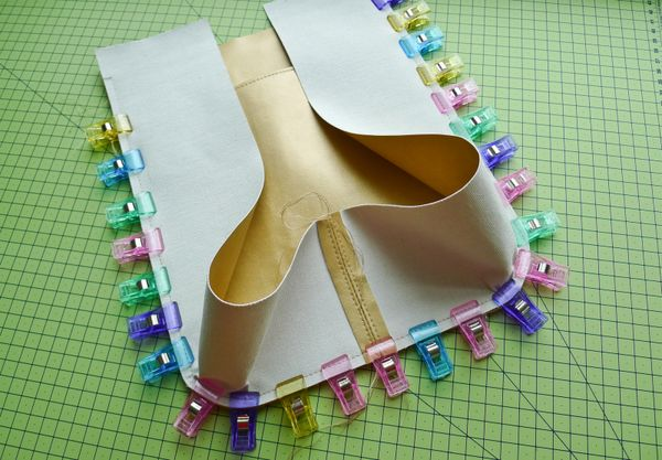 Working And Sewing With Real Faux Leather Fabric Incl