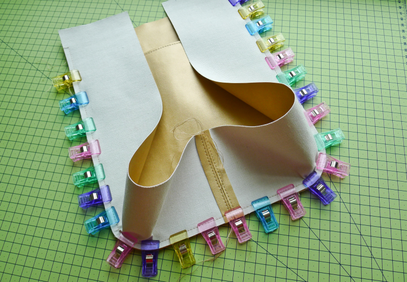 Working and sewing with real / faux leather fabric (incl
