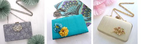 Wedding Contemporary brooch blog