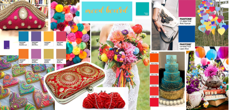 Boho Wedding Moodboard