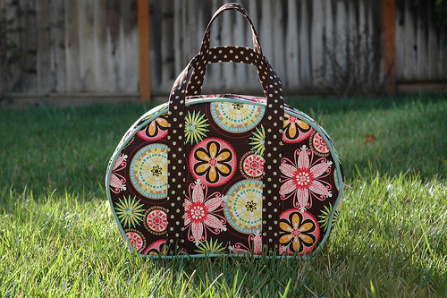 This Sophia Bag Looks Even More Yummy In Great Fabric Combo By Dknits