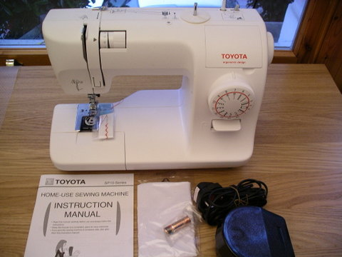 Sewing Machine Review Uhandblog Delectable Toyota Easy Sewing Machine Manual